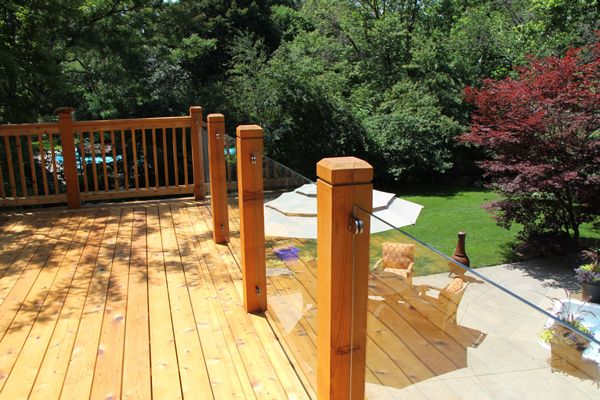 Best Glass Deck Railing Systems Glass Deck Railings Offer 400 x 300