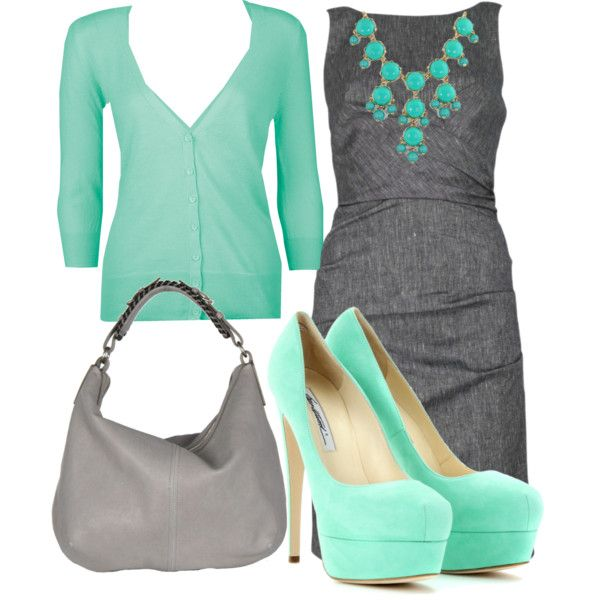 """""""spring work outfit"""" by heathers21 on Polyvore"""
