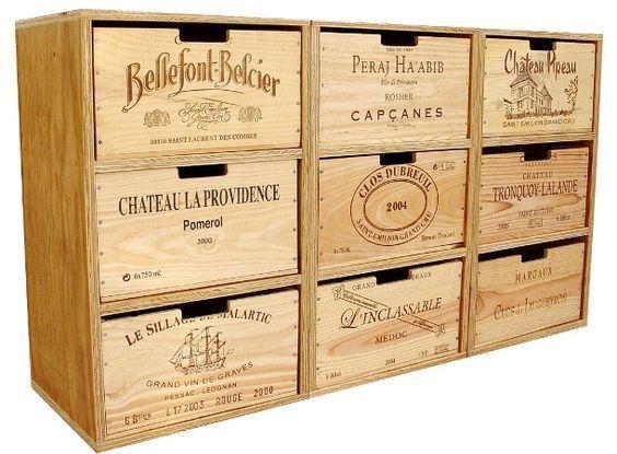 Créer avec les caisses à vin! Voici 20 idées déco