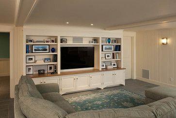 Beachfront Cottage - Martha's Vineyard, MA - beach style - living room - boston - Elizabeth Swartz Interiors