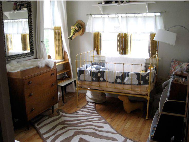 Yellow & Gray Mod nursery