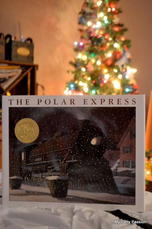 Give the Polar Express Book to Zachary and Quinn :)