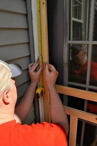 how to install a screen door, decks, doors, home maintenance repairs, how to, painting