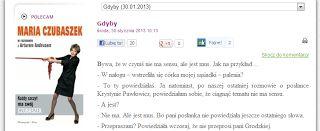 Rafał Ratyński blog: O braku smaku...