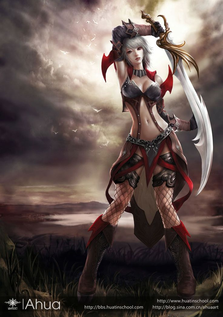 211 Best Fantasy Warrior (F) Images On Pinterest