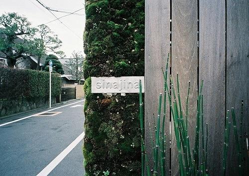 Sinajina blends effortlessly into the suburban surroundings of Tokyo's Jiyugaoka neighborhood