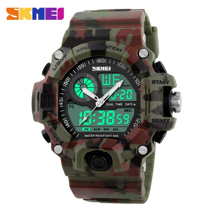 Men Sports Watches LED Digital Watch Outdoor Waterproof Quartz Watch Man military //Price: $25.99 & FREE Shipping //     #knife #army #gear #freedom #knifecommunity #airsoft