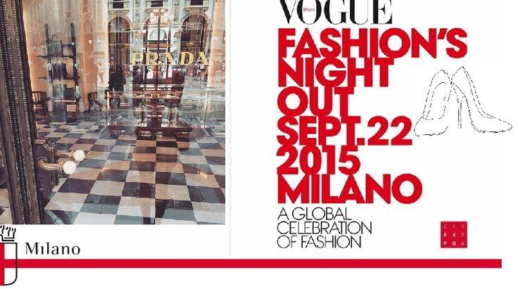 Vogue Fashion Night Out 2015 Milan  --- #imageconsultant #personalshopper #silkgiftmilan
