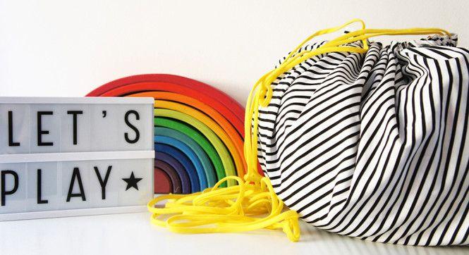 TUTORIAL bolsa para juguetes!