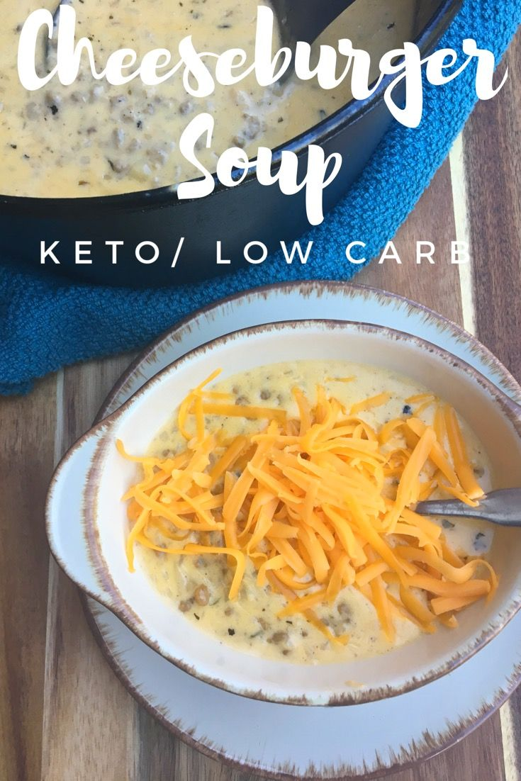 "TweetEmail TweetEmail Share the post ""Cheeseburger Soup {Keto / Low Carb}"" FacebookPinterestTwitterEmail It is finally starting to cool down here in Tennessee, and I am so excited for soups and stews. In fact, when I was at homeschool group yesterday I couldn't stop thinking about making soup for dinner last night. As I was perusingcontinue reading..."