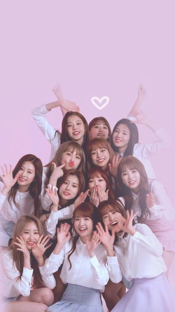 Lirik Lagu Izone Lengkap Iz One Kpop Girl Groups Iz One Wallpaper