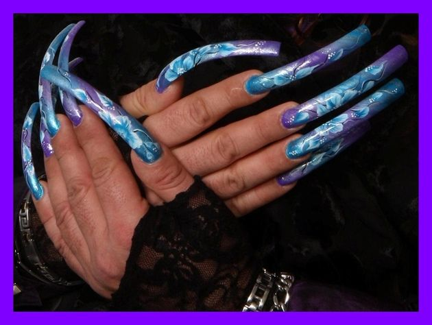 Long nails fetish in new york