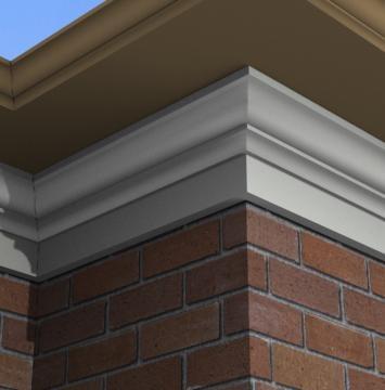 19 best exterior foam crown moulding images on pinterest - Exterior decorative foam molding ...