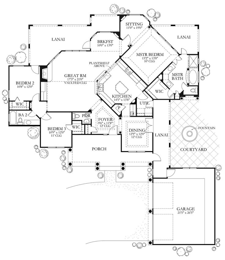 4439 best my wish home images on pinterest house floor plans Quality Crafted Homes Floor Plans this mediterranean design floor plan is 1988 sq ft and has 3 bedrooms and has bathrooms quality crafted homes floor plans