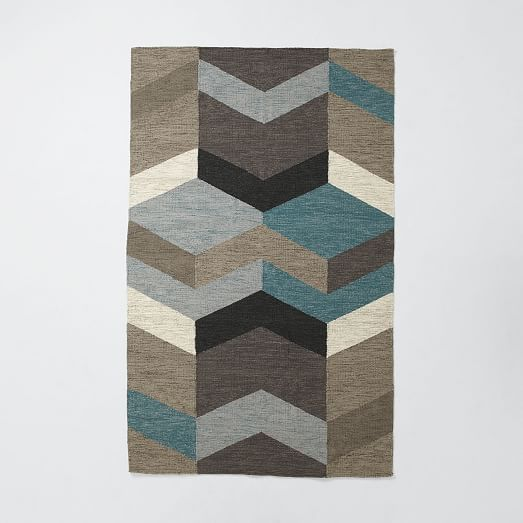 Geo Wool Kilim | West Elm
