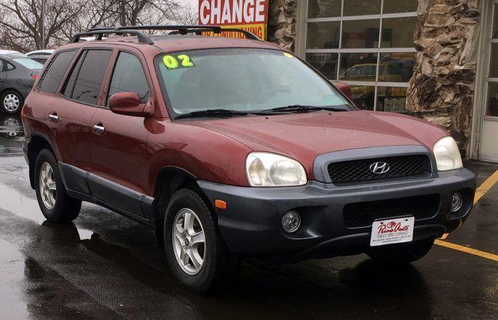 2002 Hyundai Santa Fe Gls 3995 Prime Auto Sales Omaha Ne