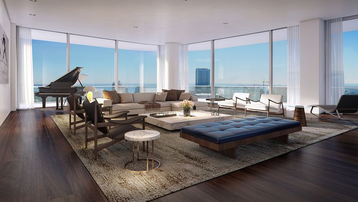 Miami's Hottest New Penthouses Are the Epitome of Trendy Living   Real Estate