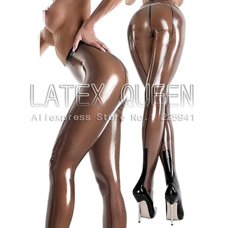 Close Fitting Latex Leggings Pants In Leggings From Women