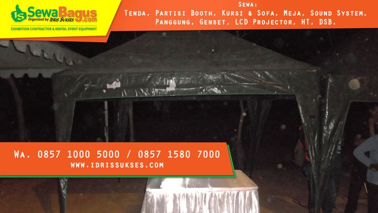 Sewa Tenda Terjangkau di Jakarta Utara