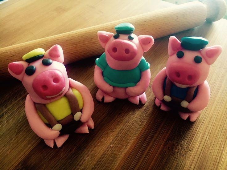 Torta dei tre porcellini in pdz... word in progress 🚧🚧🚧