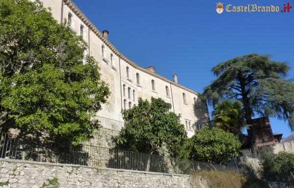 A wonderful day today at #CastelBrando! What about a cocktail at the castle? #castle #italy