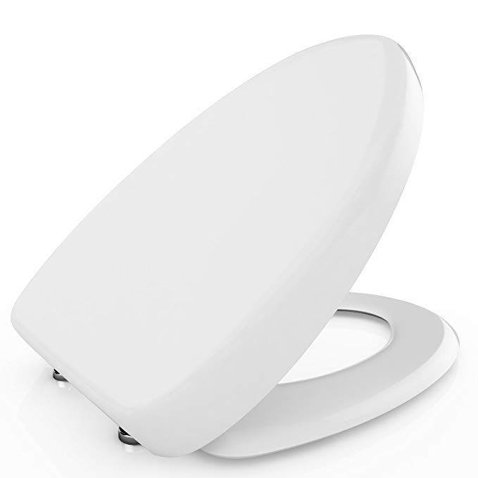 Bathwa Toilet Seat With Cover Soft Close Quick Release For Easy