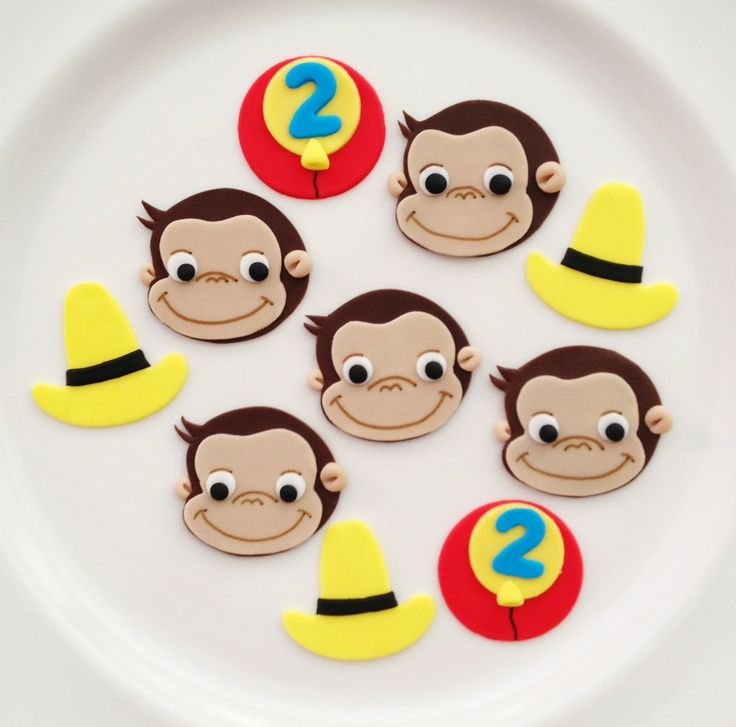 curious george cupcake | Emily's Delights: Curious George Cupcakes and Cupcake Toppers