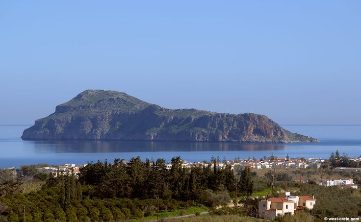 Island of Theodorou  which is a habitat of the Kri Kri wild goats! #Crete Photo credits: west-crete