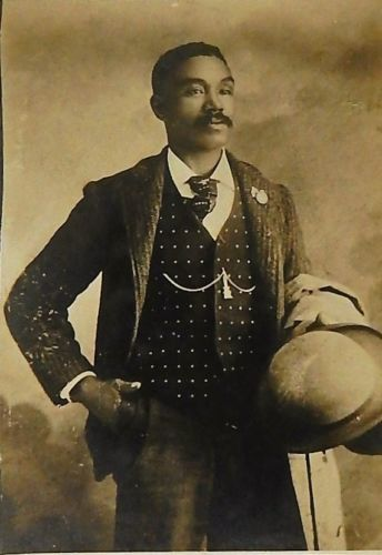 Antique-1890s-Cabinet-Card-Photograph-Well-Dressed-Black ...
