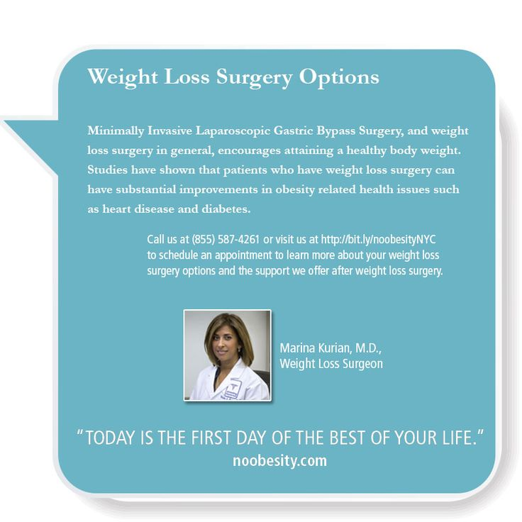 Best weight loss surgery options
