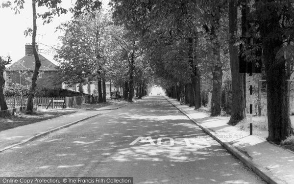 Burgess Hill, Cants Lane c.1965, from Francis Frith