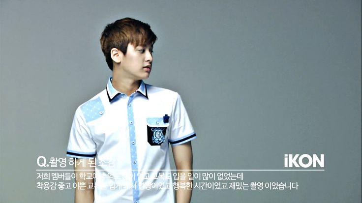#ChanWoo #iKON #SmartUniform Xinh quá con ơi =(((