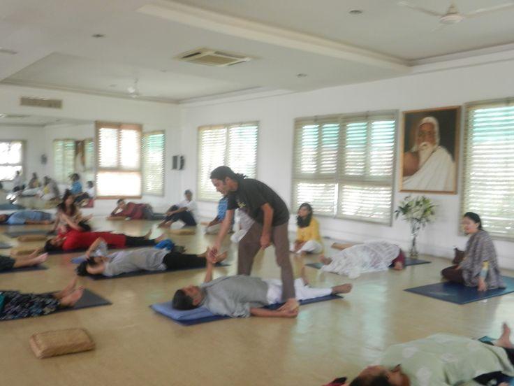 Yoga Nidra (conscious sleep) - facilitated by Amir Azoulay