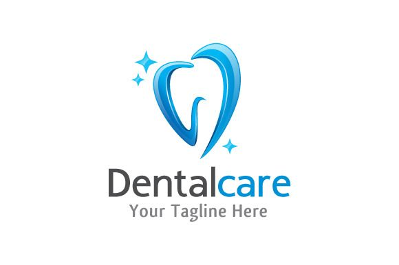Dental Care Logo Template by gunaonedesign on Creative Market