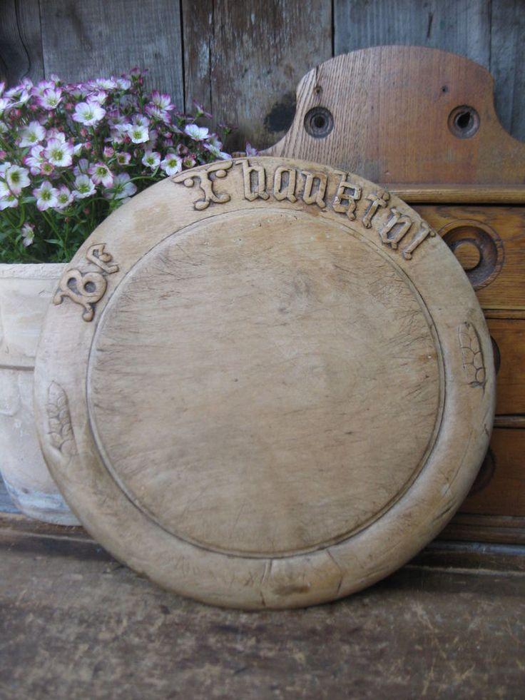 Antique Bread Board Be Thankful