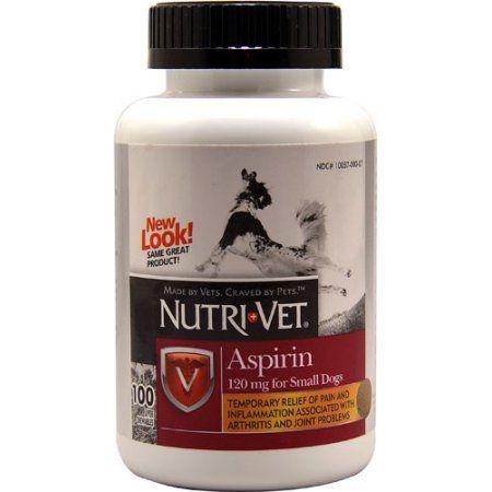 Nutri Vet Nutritionals K Aspirin For Small Dogs