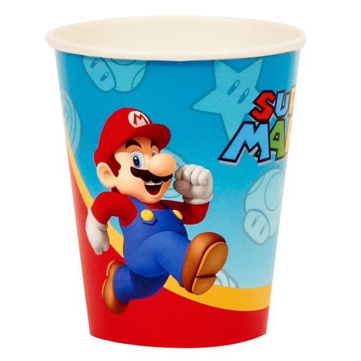 Super Mario Party 9 oz. Paper Cups