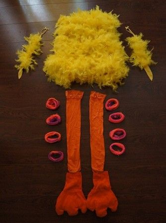 Read on to recreate this fun and feathery Big Bird Halloween costume…