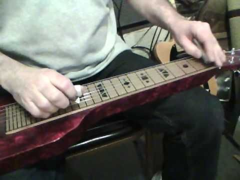 6 string lap steel guitar, C6 tuning. My web site: www.playsteelguitar.com    I have a Lap Steel Guitar Song Book with CDs available. Check my site. Thanks for looking!