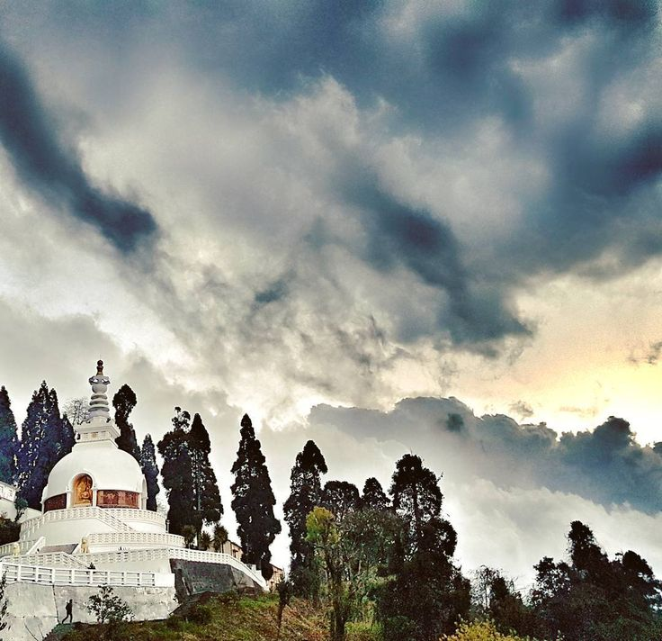 Dark clouds surrounding the Japanese temple,Darjeeling ���� . . #travel #travelgram #travelgoals #traveller #traveling #travelphotographer #trippy #temple #dark #wanderlust #discover #explore #explorer #naturegram #skyporn #cloud #cloudporn #workship #hills #mountains #globetrotter #mustvisit #insta #instagram #photo #photograph  #lifegoals #wanderer #goals #nomad ! http://tipsrazzi.com/ipost/1512511800485581621/?code=BT9hXgKh5M1