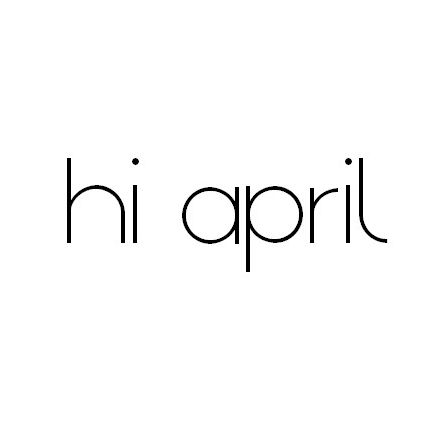 please stay as amazing as march :)
