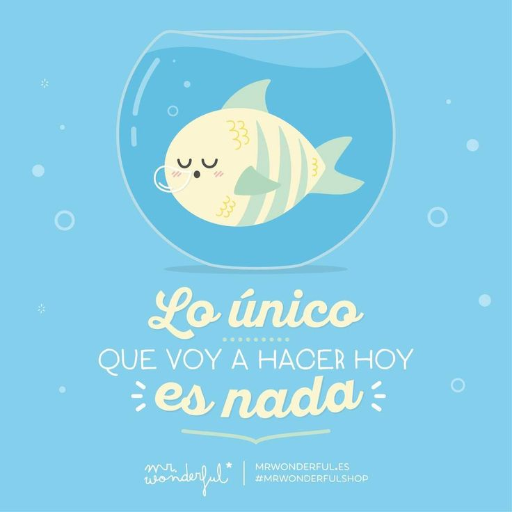 Este es mi plan favorito  #mrwonderful #quote #relax
