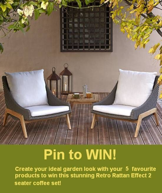 "To enter our competition, just re-pin your 5 favourite products to your ""My garden style"" board for a chance to win! Terms and Conditions: http://bq.co.uk/1qrkssl"