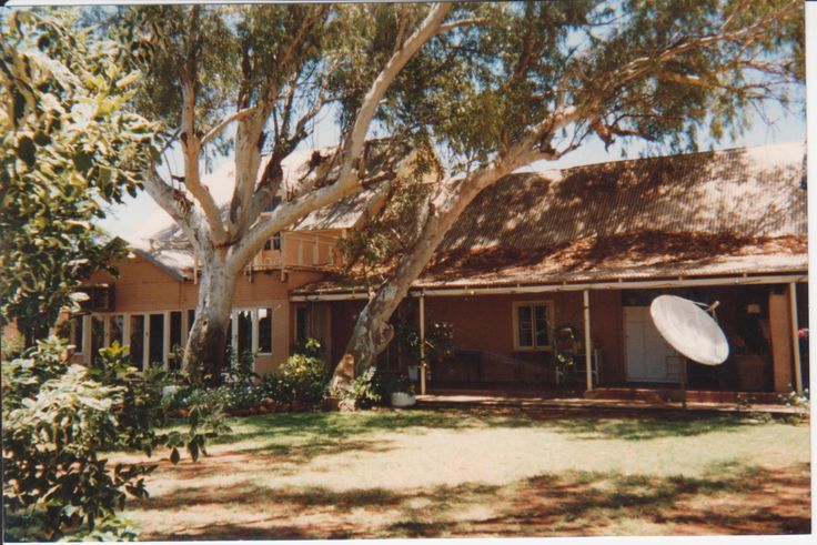 This is Minilya, a sheep and cattle station in Western Australia close to the observatory at Carnarvon built to track the Gemini  spacecraft. I worked there as a governess. Minilyia was the inspiration for my first novel The Biocide Conspiracy.This is the link  if you want to know what happens: http:..www.amazon.com/dp/B004VN31N0