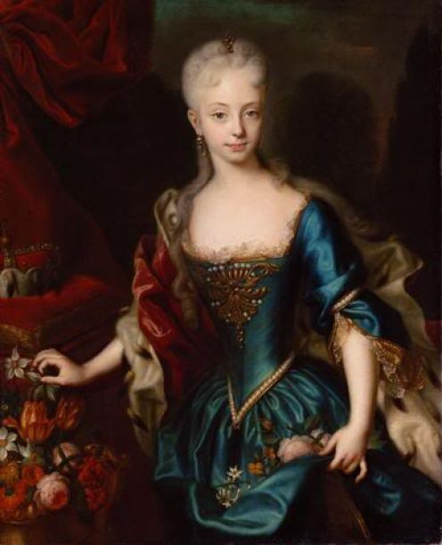 1727 Maria Theresia by Andreas Moller (Kunsthistorisches Museum, Wien)