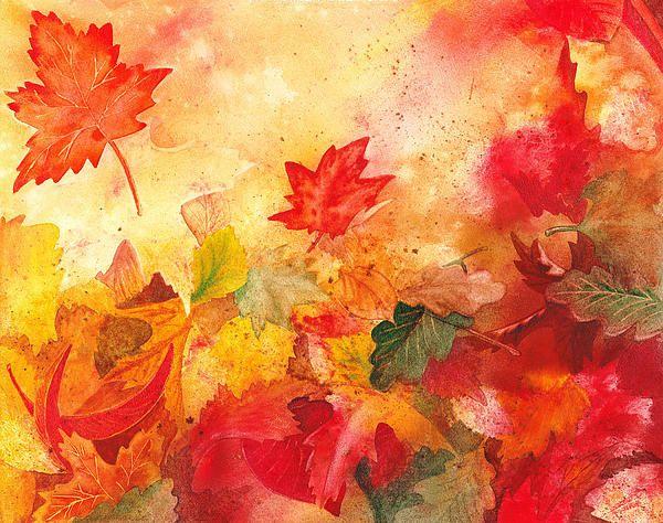 Fall is just around the corner http://fineartamerica.com/featured/autumn-serenade-irina-sztukowski.html