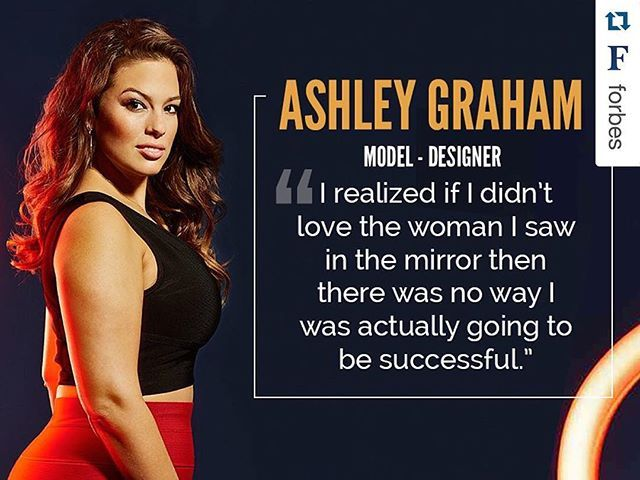 "I'm still beaming about being on the cover of @Forbes #30under30 Class of 2016 #Repost ・・・ Our 2016 list of 30 success stories under age 30 in the category of art and style span fashion, fine art, photography, furniture and more. Plus-size model Ashley Graham landed five magazine covers in the last year plus a bikini ad in the 2015 @SI_Swimsuit  issue. ""I've had success in breaking the mold in the fashion industry,"" she says. She credits ""my hot body. It sounds a little misogynistic, but I…"