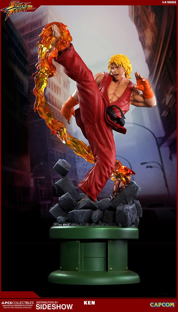 BLOG DOS BRINQUEDOS: Ken Masters with Dragon Flame
