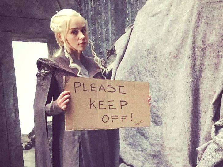 """'Game of Thrones' star Emilia Clarke promises a 'mic drop' season in a behind-the-scenes photo - The INSIDER Summary:  Emilia Clarke stars as Daenerys Targaryen on """"Game of Thrones.""""  The actress has an amazing Instagram account and always makes up hashtags.  A new post of her on set of season seven promises an epic season ahead.  The photo has fans hyped for what's to come.  """"Game of Thrones"""" star Emilia Clarke is more than just the Mother of Dragons on HBO's hit series — she's also the…"""