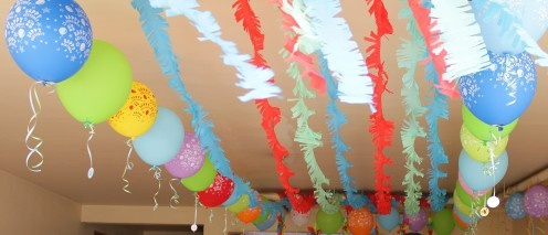 how to make crepe paper wedding decorations